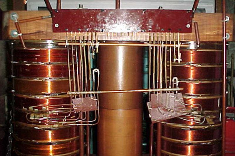Transformateur industriel cuivre Flipo Richir