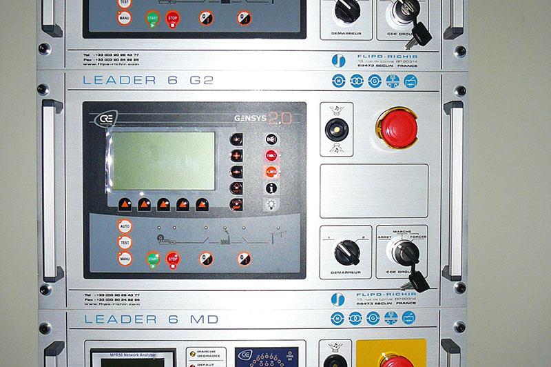 Installation groupe électrogène industriel spécifique