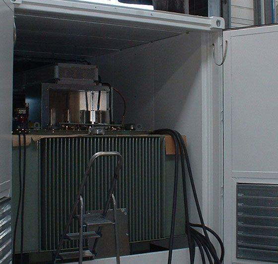Mise en container cellules et postes Haute tension l Flipo Richir