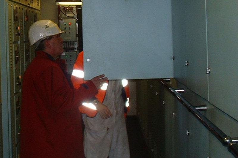 installation groupe électrogène industrie