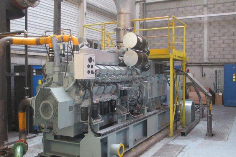 Installation groupe électrogène industriel remotorisation