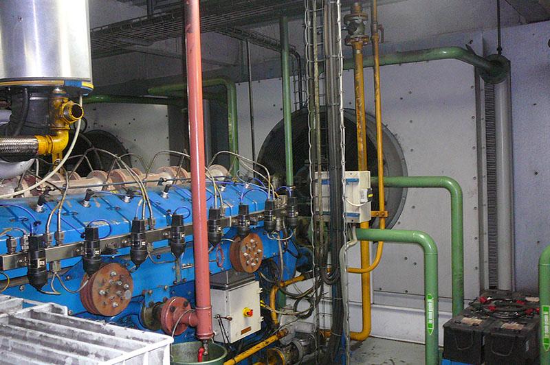 Groupe électrogène centrale de cogeneration