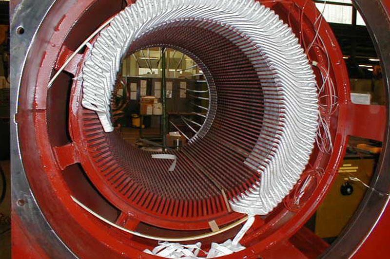 bobinage machine tournante
