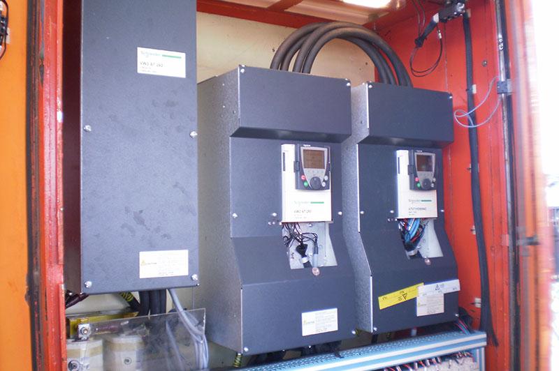 Pont-roulant-sucrerie avec système de regénération sur réseau l Flipo Richir