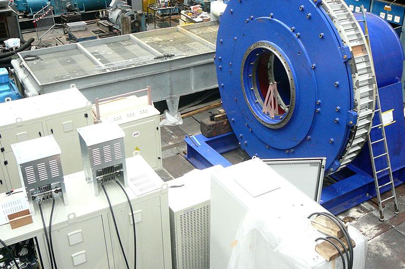 Plateforme d'essais alternateurs d'éoliennes l Flipo Richir