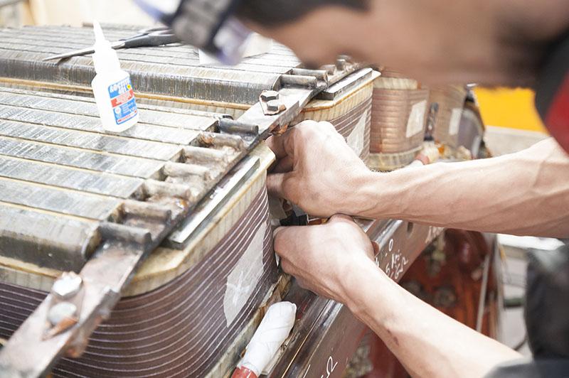 Bobinage Machine Tournante entreprise Flipo Richir 13