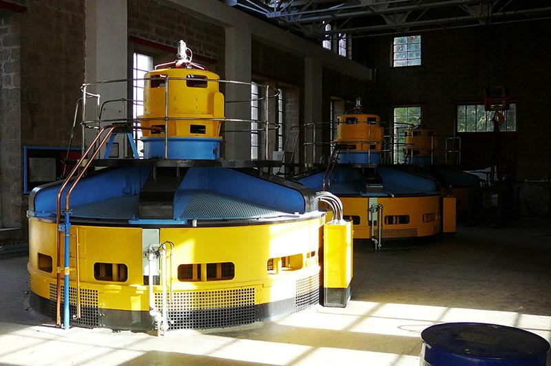 Centrale hydroélectriques à Madagascar - Matériels - Flipo Richir
