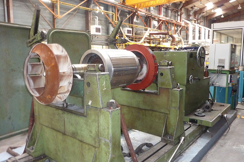 Équilibrage rotor machine tournante - Moyen de production - Flipo Richir