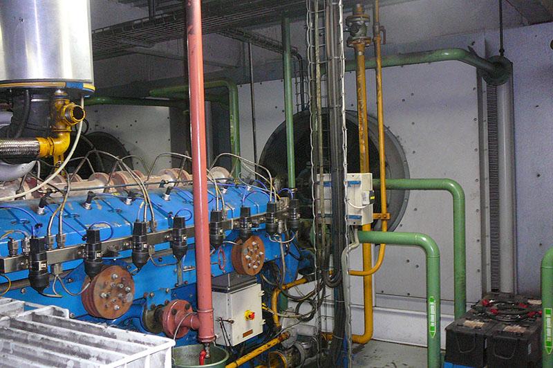 Centrale de cogénération dans les Ateliers de Flipo Richir - Moyens de production