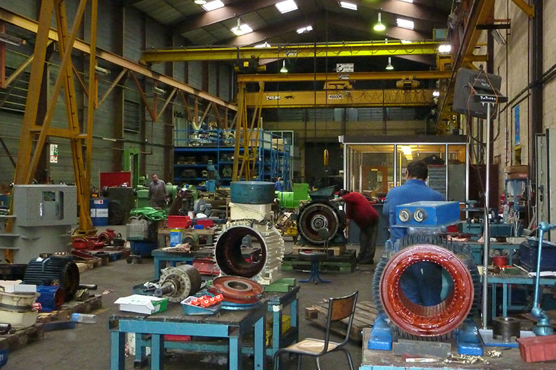 Atelier Flipo Richir - Moyens de production - petites et moyennes puissances