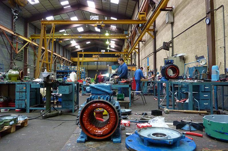 Moyens de production - Atelier petites et moyennes puissances - Flipo Richir