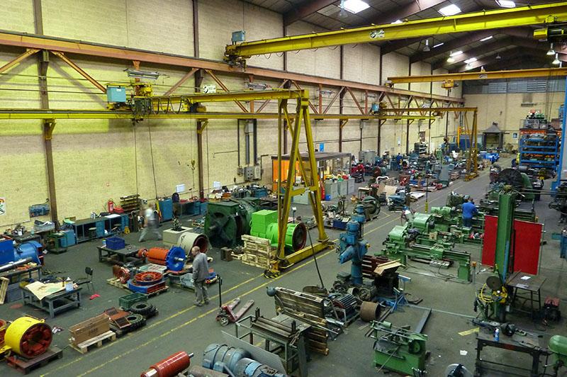 Atelier mécanique - moyens de production - Flipo Richir