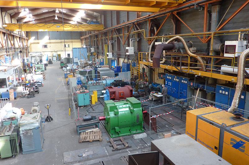 Moyens de production - Atelier grosses puissance et plateforme d'essais multitechniques - Flipo Richir