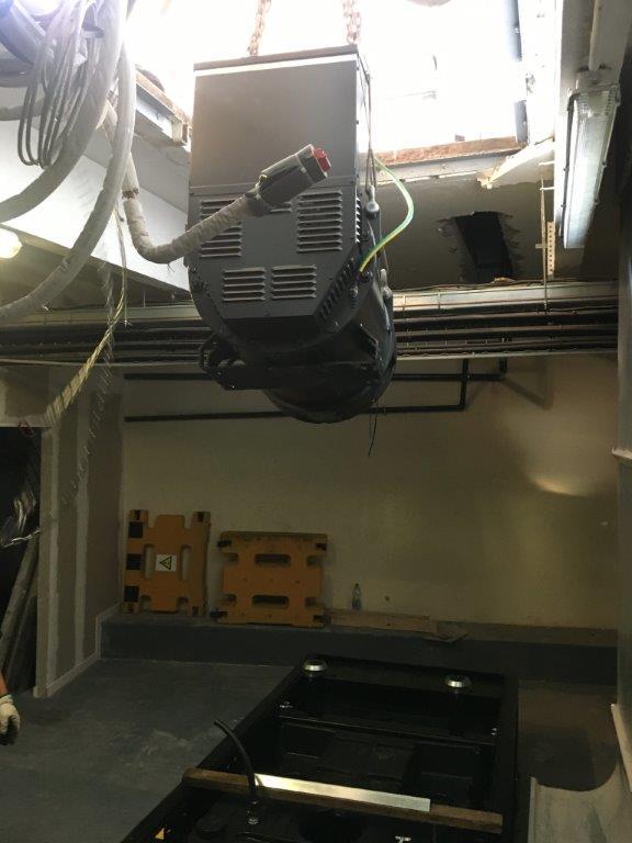 installation groupe électrogène pour Le Printemps à Lille - Flipo Richir
