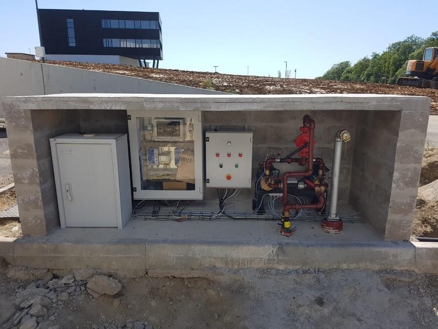 Installation de pompes en alimentation de combustible - Flipo Richir