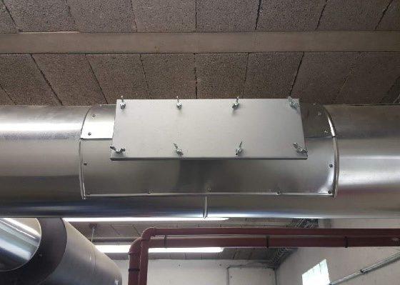 Installation d'une trappe NFX - Flipo Richir