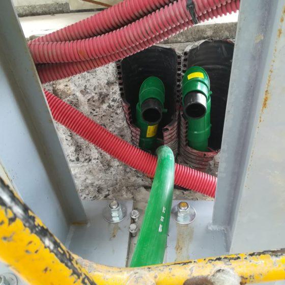 Raccordement cuve fuel - Flipo Richir