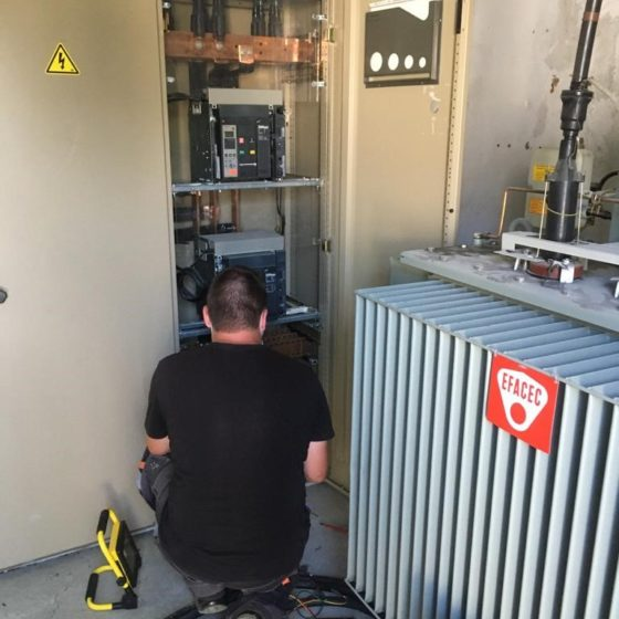 installation de 2 groupes électrogène de 200 kVA l Flipo Richir