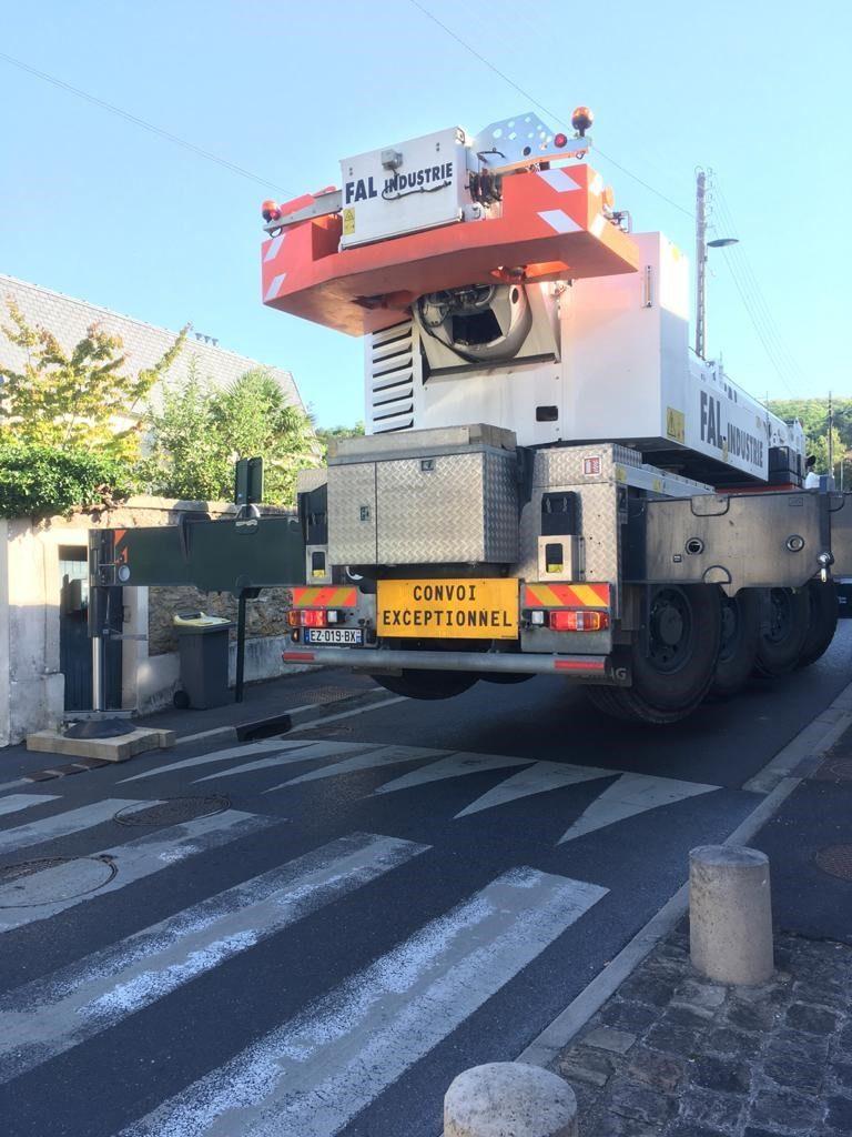 Installation d'un groupe électrogène à la Croix Rouge Française : Flipo Richir