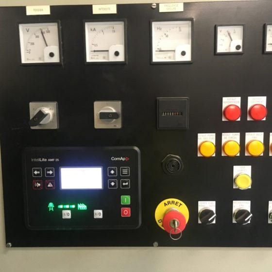 Etude et le remplacement d'un module de commande d'un groupe électrogène l Flipo Richir