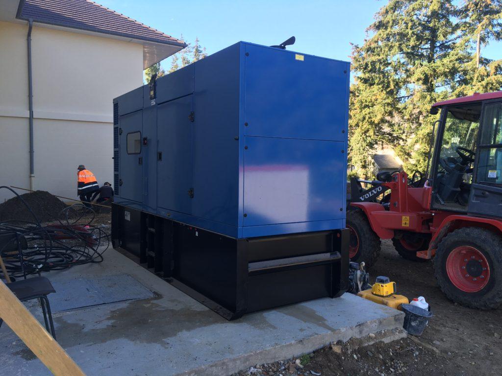 installation groupe électrogène chars