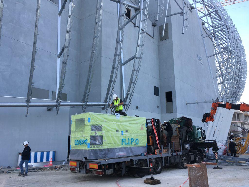 groupe électrogène sécurité 275 KVA - Flipo Richir
