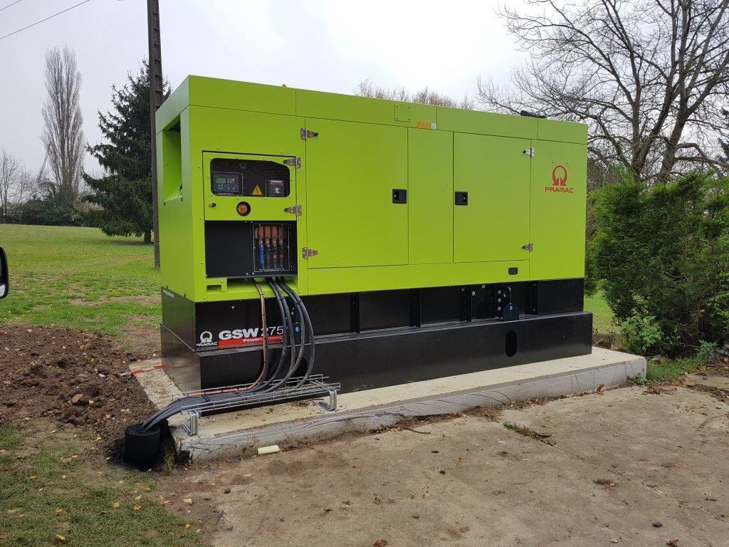 Installation d'un groupe électrogène pour l'EHPAD Le Champ de la Rose l Flipo richir