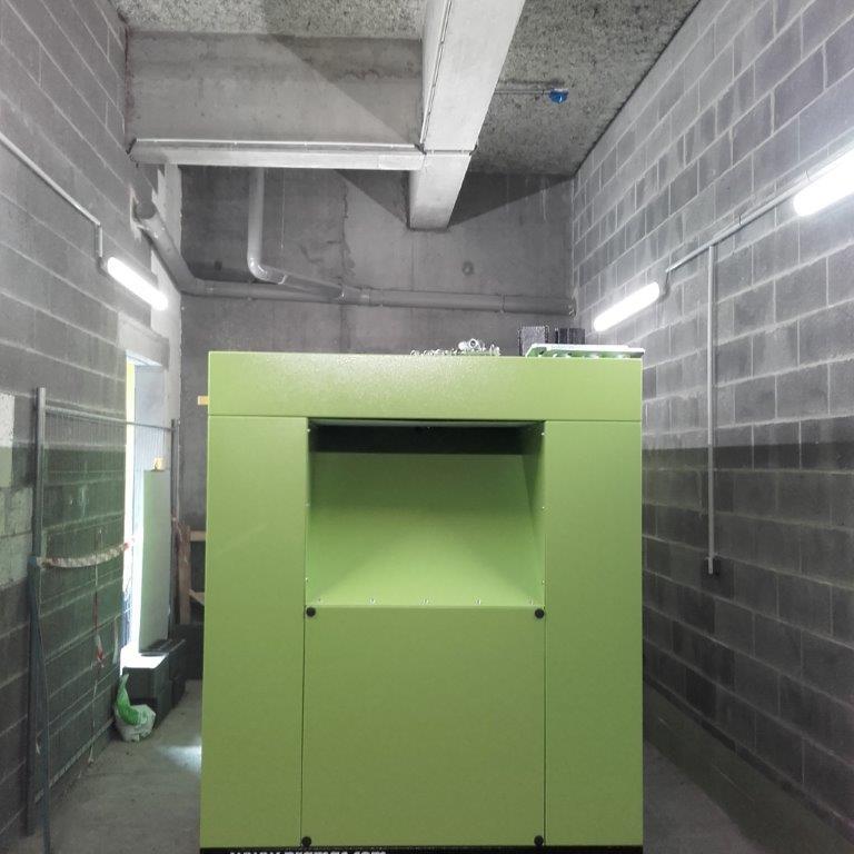 Installation d'un groupe électrogène de sécurité - Flipo Richir
