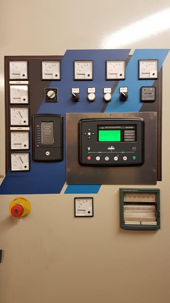 remplacement de l'automate d'un groupe électrogène - Flipo Richir