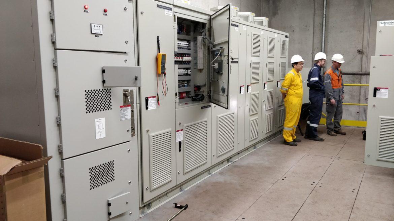 Aspiration poussières d'une aciérie électrique en Belgique l Flipo Richir