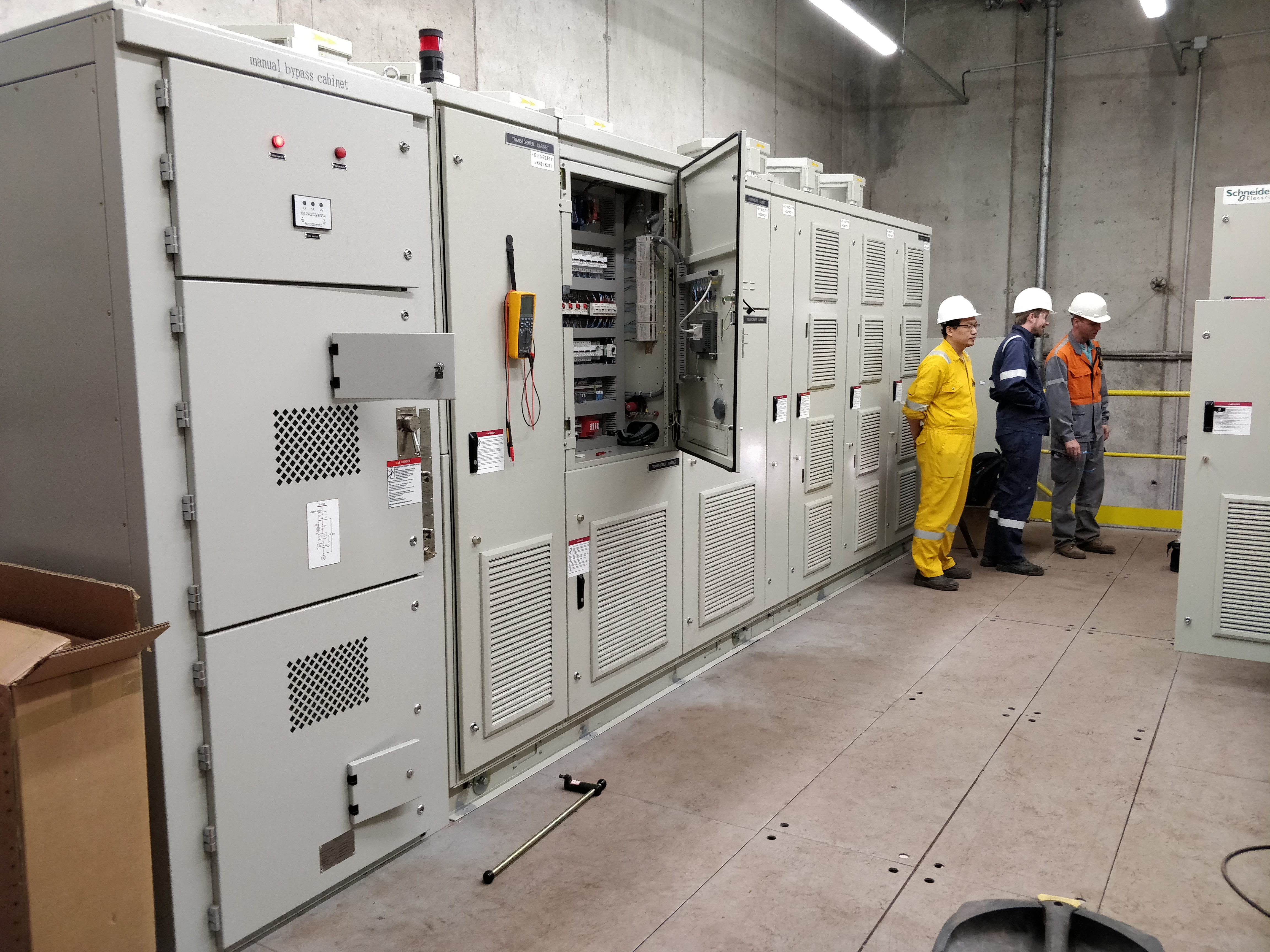Aspiration poussières d'une aciérie électrique en Belgique