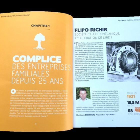 25 ans de apital investissement l Flipo RICHIR REVUE DE PRESSE