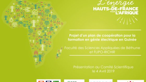 Plan de coopération pour la formation génie électrique en Guinée