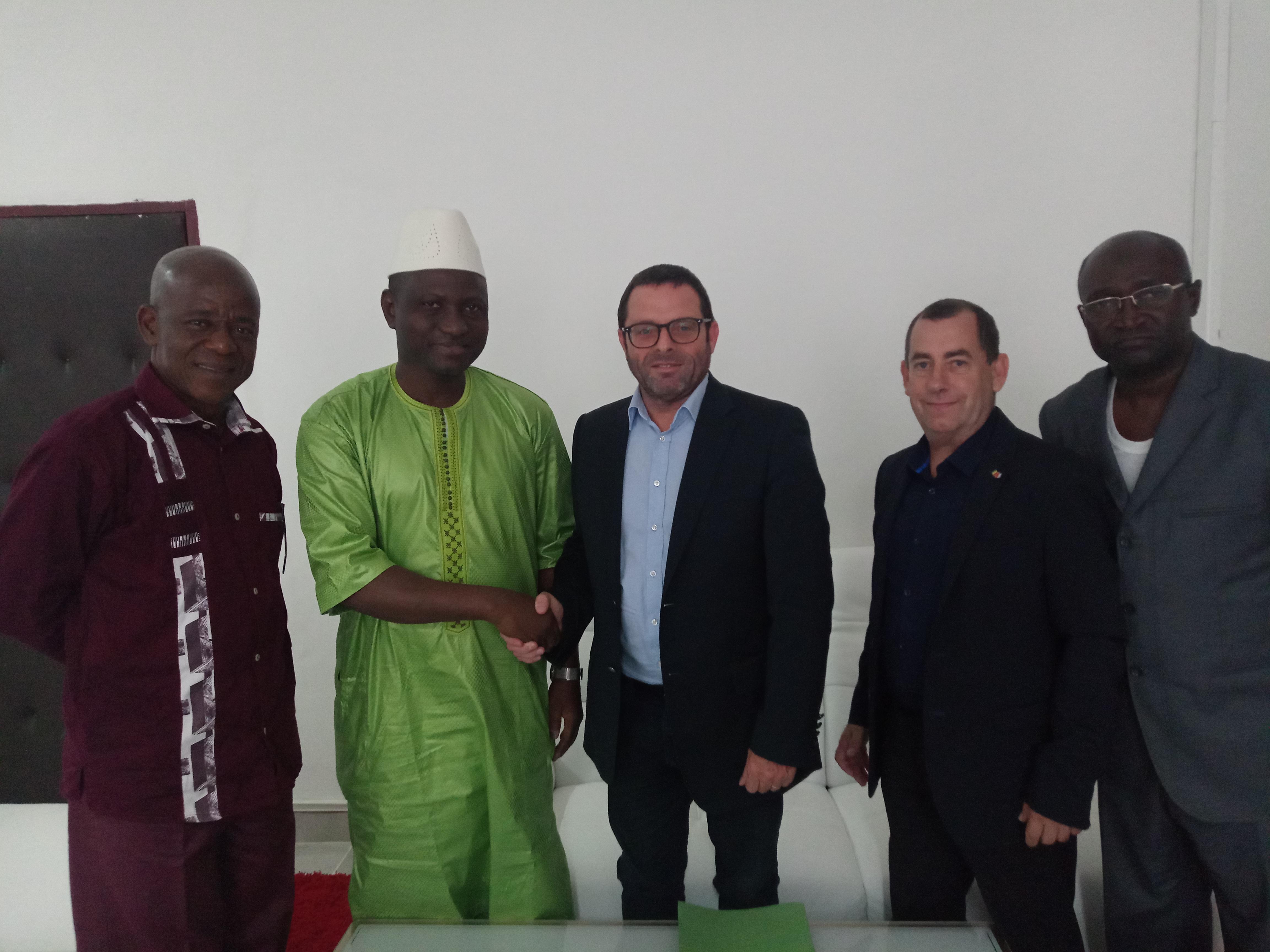 Formation en Génie électrique en Guinée avec Flipo RIchir