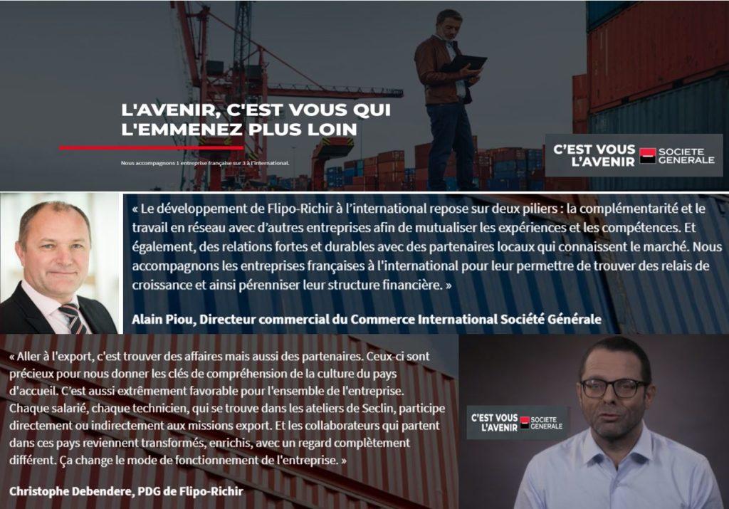 Interview sur le développement international des PME