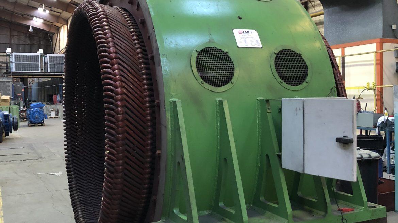Travaux d'entretien sur moteur à rotor bobiné - Flipo Richir
