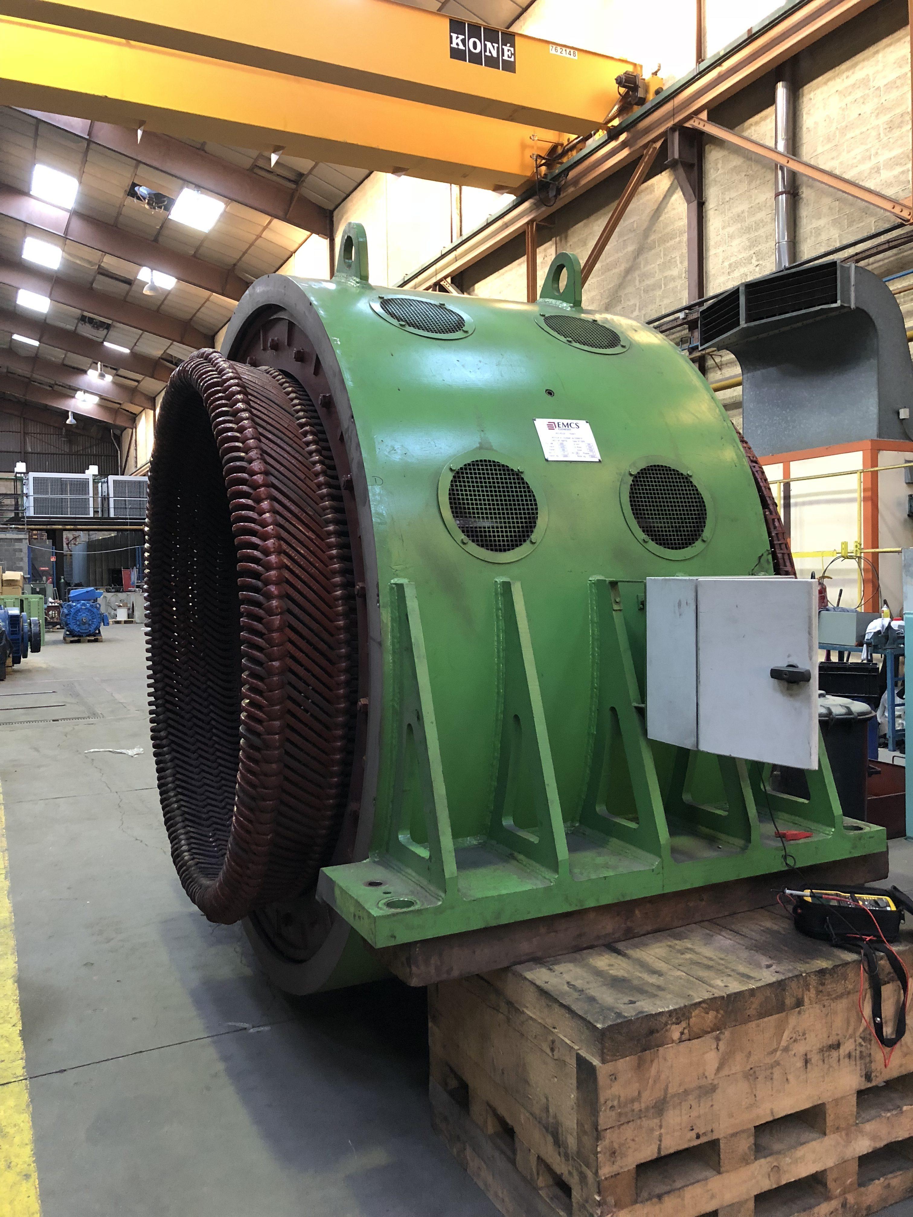 Moteur à rotor bobiné - Flipo Richir