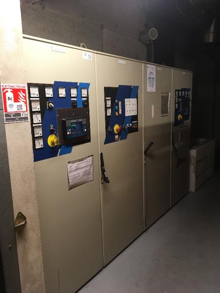 armoire groupes électrogènes