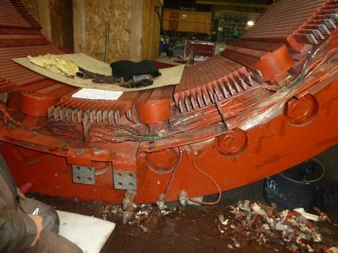 Machine tournante : remise en état sur site - Isère l Flipo Richir