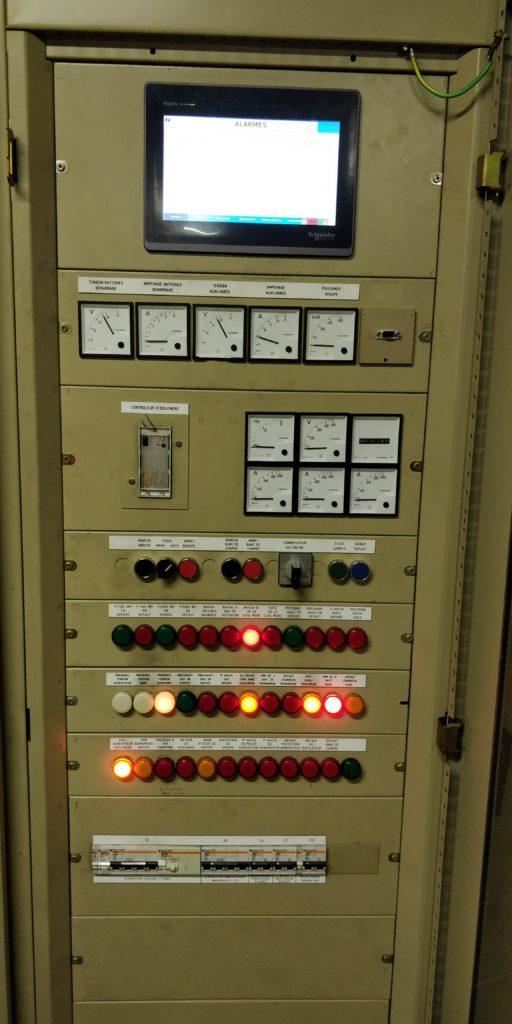 Gestion automatisme groupe électrogène SNCF Lille- Flipo Richir