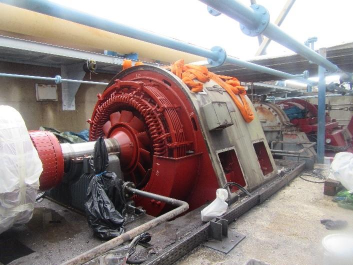 extraction moteur compresseur