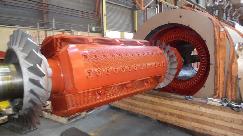 alternateur turbine entretien flipo richir