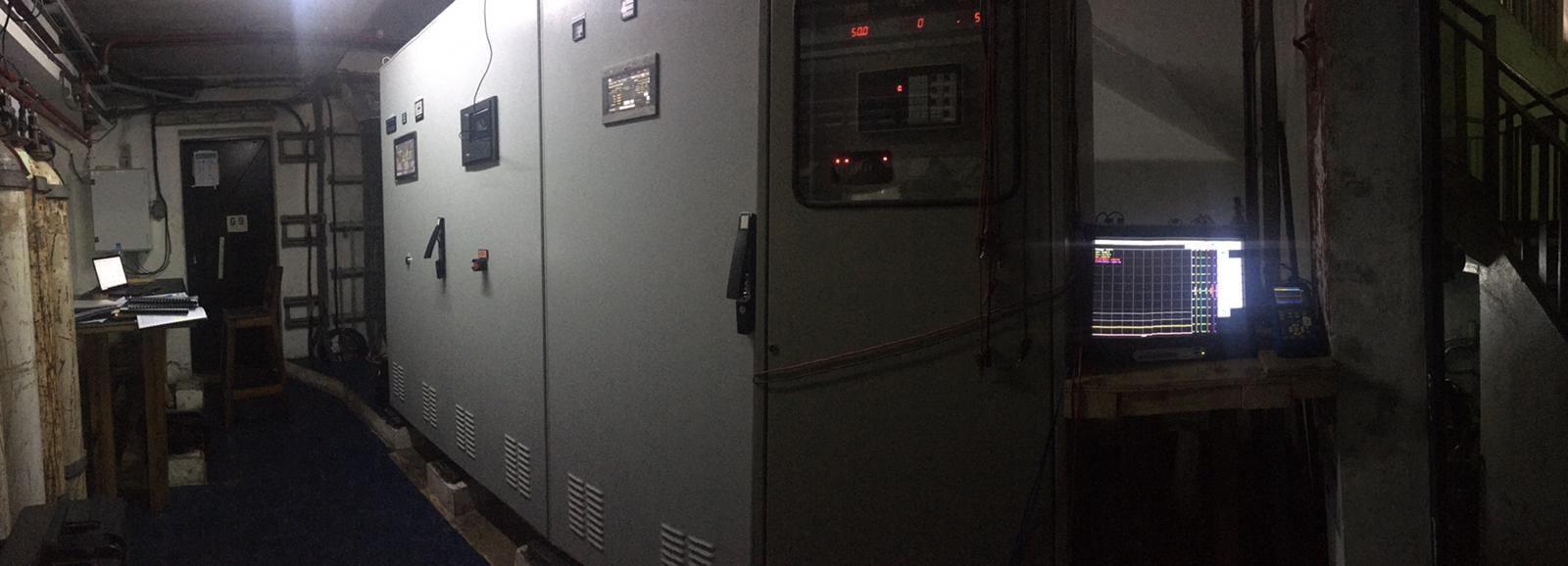 Cameroun, Centrale hydroélectrique d'EDEA groupes électrogènes l Flipo Richir