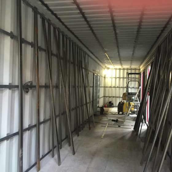 Fabrication et installation d'un container groupe électrogène spécial pour un centre hospitalier l Flipo Richir
