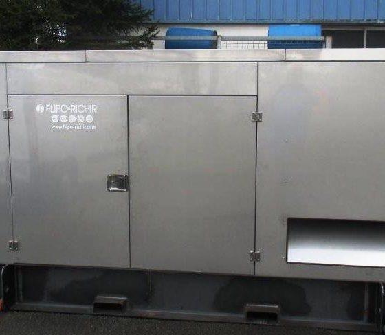Capotage inox groupe électrogène en sidérurgie l Flipo Richir