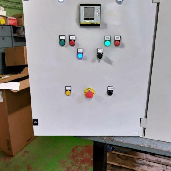 Datacenter la réalisation du coffret pour la gestion du fuel sur des groupes électrogènes de secours l Flipo Richir