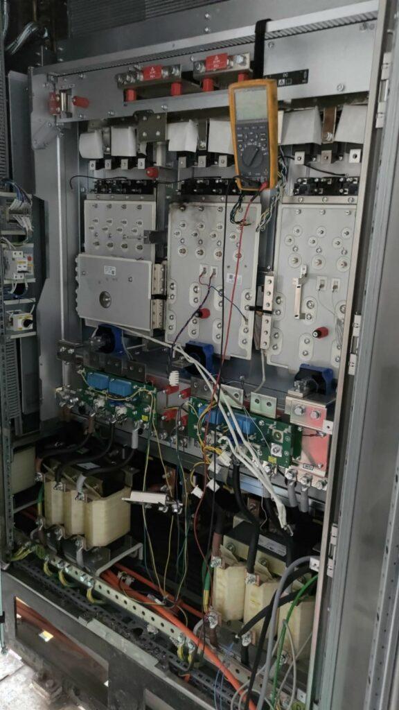 Dépannage variateur grand tunnelier et remise à neuf l Flipo Richir