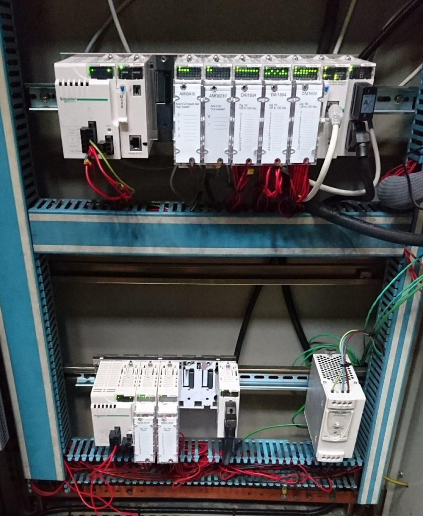 rénovation armoire Automate - Flipo Richir