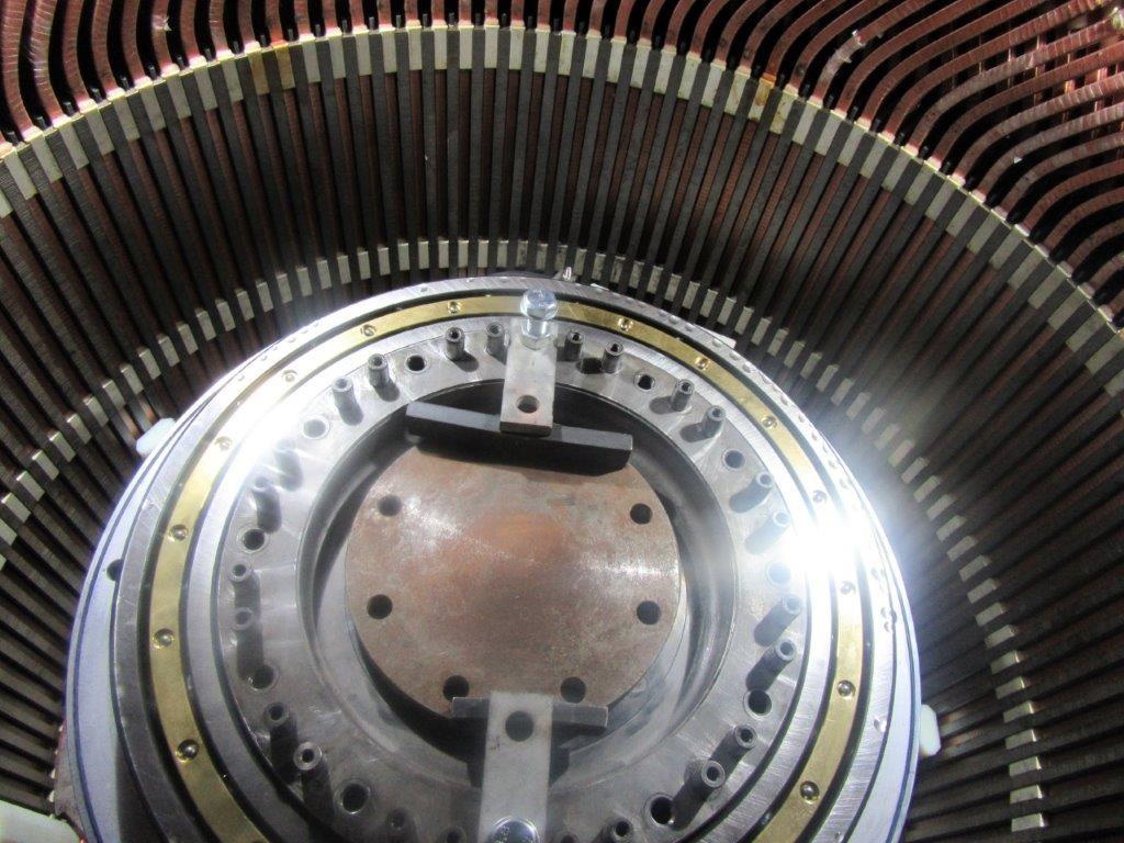 Entretien d'une génératrice d'éolienne synchrone l Flipo Richir