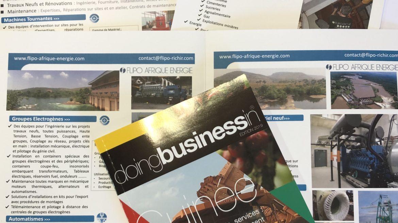 Flipo-Richir pour la deuxième année consécutive au Forum Business en Guinée